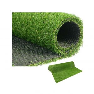 LITA Premium Synthetic Artificial Grass Turf 20mm Pile Height, High Density Fake Faux Grass Turf, Natural and Realistic Looking Garden Pet Dog Lawn (20mm Grass height-1mx5m)