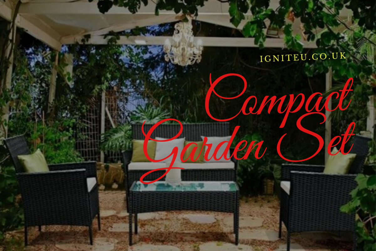 Why is a Compact Garden Set the Best Choice for a Small Garden?