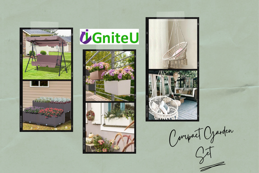How to Choose Compact Tables and Chairs for Your Garden?